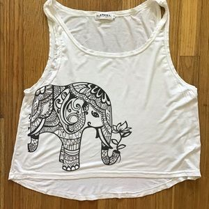 L.A. Soul Elephant tank top M